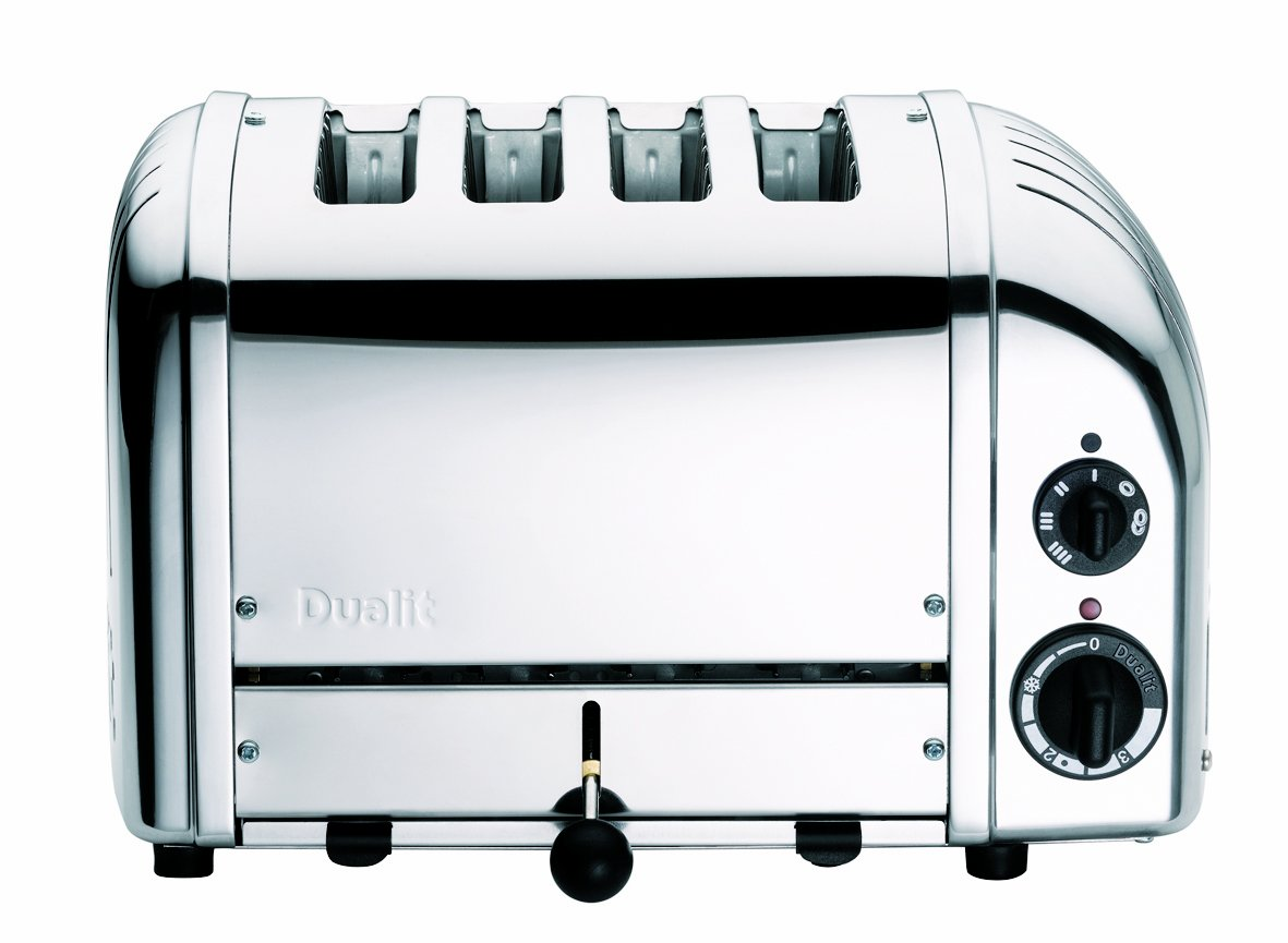 Dualit 4 Slice Toaster, Polished Chrome