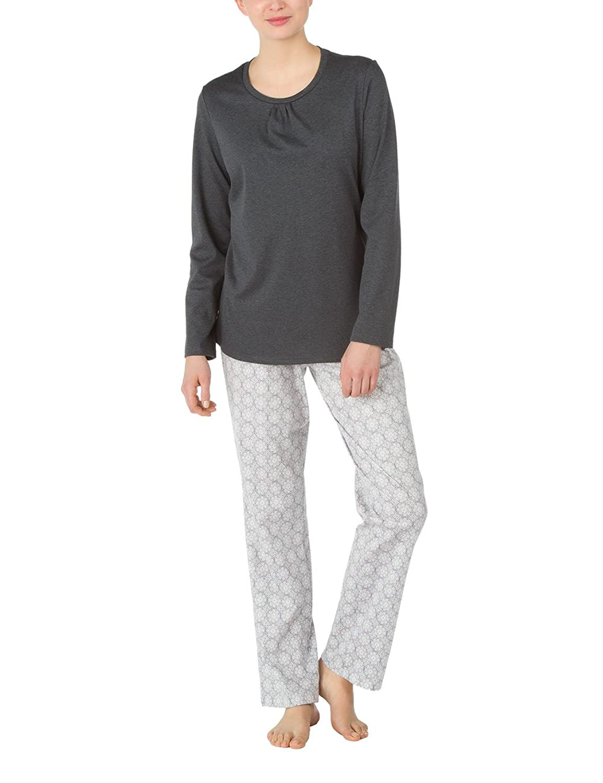 Calida Damen Zweiteiliger Schlafanzug Pyjama Hydepark