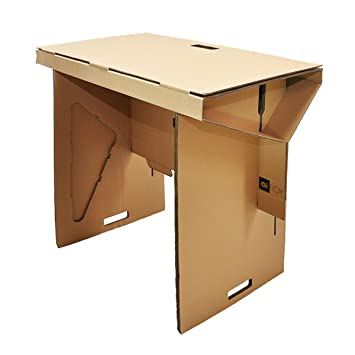 Portable Standing Desk   Cardboard Sit Stand Workstation For Working In A Stand  Up Office