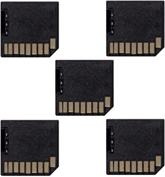 2x Micro SD Card Adapter TF to Short//Mini SD Adapter For MacBook Pro Air Retina