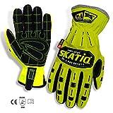 SKATIQ Impact Reducing Safety Gloves SG-1310-G (Large)
