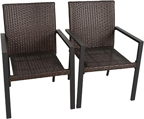 bali outdoors gas firepit chairs outdoor wicker patio dining set set of 2 stackable outdoor wicker chairs for patio garden yards indoor