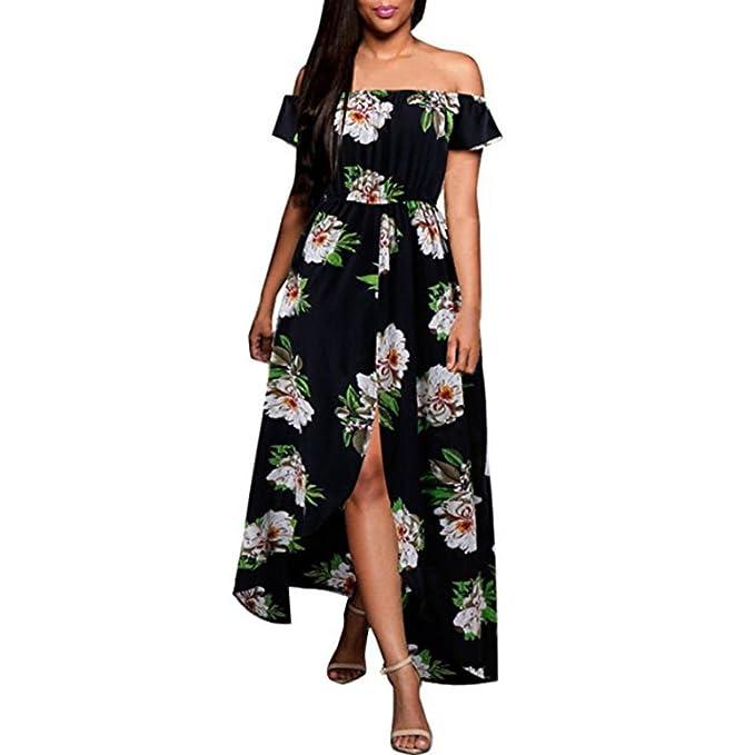 godere di un prezzo economico l'atteggiamento migliore forma elegante beautyjourney Vestiti Lungo Donna Taglie Fort Vestito ...