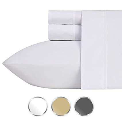 best sheets on amazon Amazon.com: Best Luxury 1000 Thread Count 100% Pure Cotton Bed  best sheets on amazon