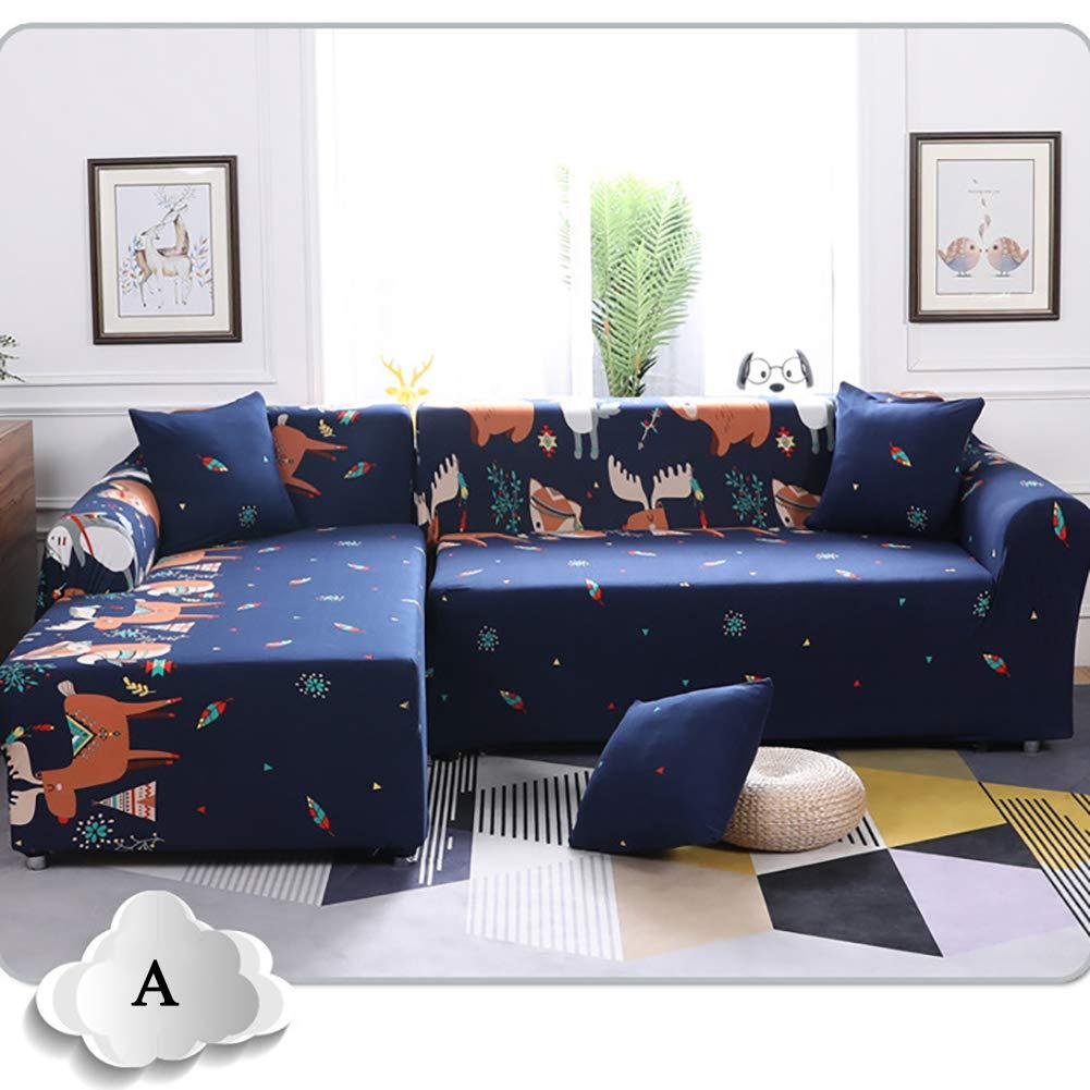 Amazon.com: XRZY Elastic All-Inclusive Sofa Cover, New ...
