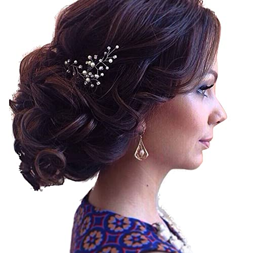 Gracewedding Bridal-crystal Mariage Bal d'étudiants épingles à cheveux (lot de 2)