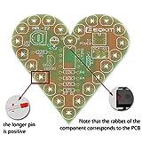 Icstation Electronics Kits DIY Solder Kit Heart