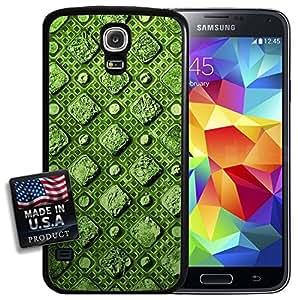 Green Diamonds Maze Galaxy S5 Hard Case