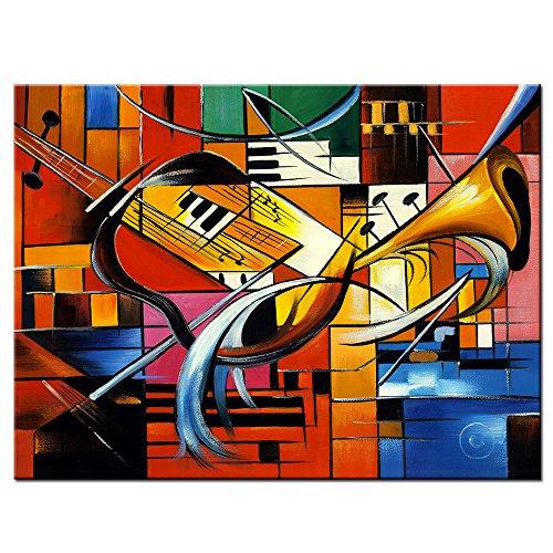 LKY ART Wall Art Oil Painting Abstract Art Wall Scenery Pict