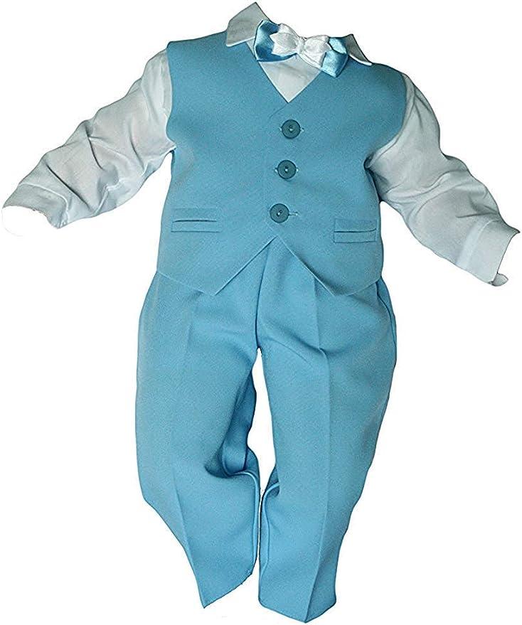 62 68 74 80 Dunkel Blau /%/% Taufanzug Festanzug Hochzeit Anzug 6 Teilig Set Gr