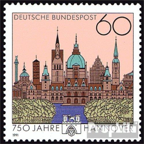 - BRD (BR.Deutschland) 1491 (kompl.Ausgabe) 1991 750 Jahre Hannover (Briefmarken for collectors)