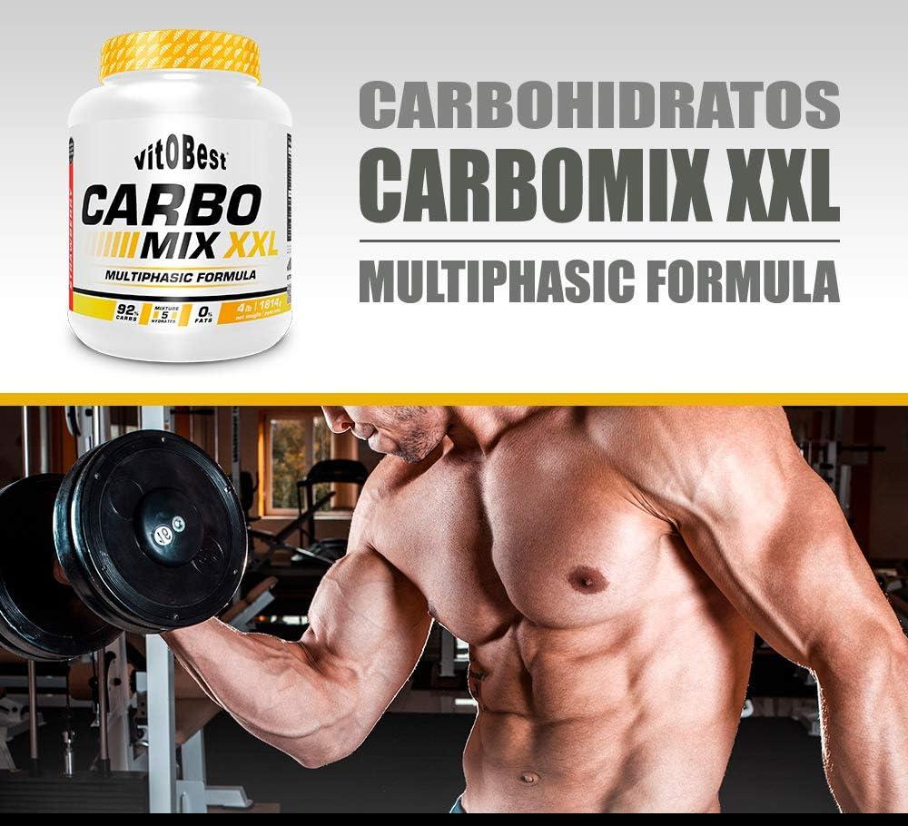Carbohidratos CARBO MIX XXL 4 lb - Suplementos Alimentación y Suplementos Deportivos - Vitobest (Limón)