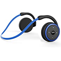 Small Bluetooth Headphones Behind The Head, Sports Wireless Headset with Built in Microphone and Crystal-Clear Sound…