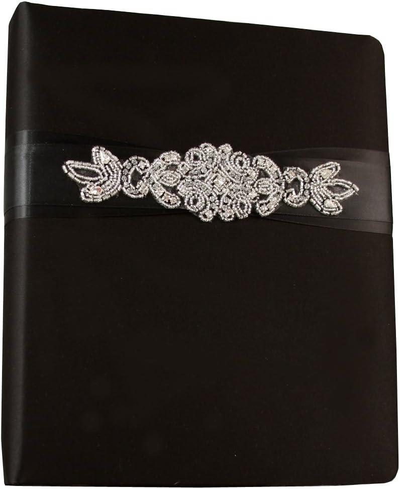 Adriana Ivy Lane Design Wedding Accessories Memory Book Black