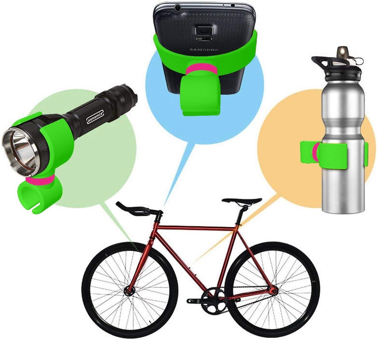 Soporte OnePlus 6T bici soporte linterna bicicleta soporte botella ...