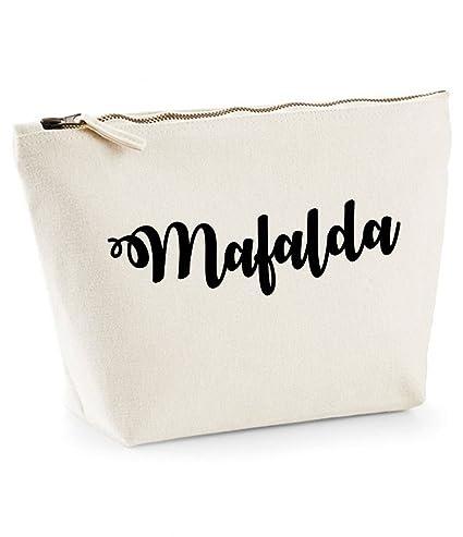 Mafalda nombre personalizado lona de algodón bolsa de ...
