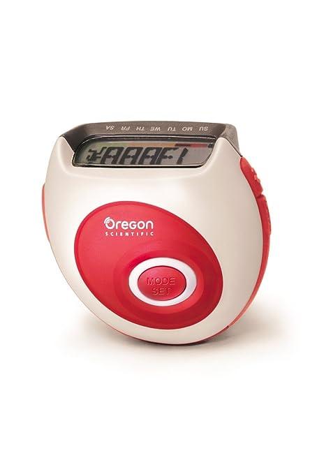 Oregon Scientific PE823 podómetro Unisex 7 días memoria podómetro ...