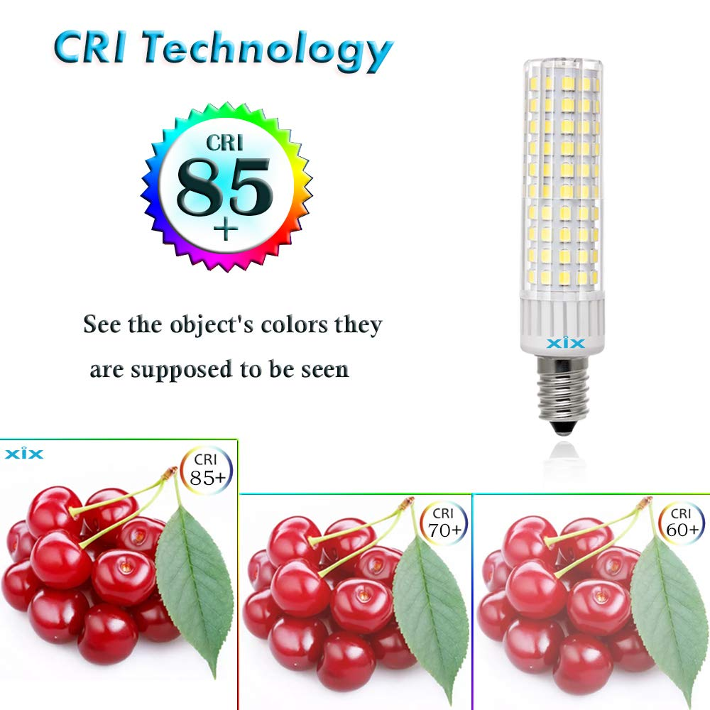 E14 LED Bulbs 8.5W 1105LM 100W-120W Equivalent Halogen Bulbs AC110V~265V Volts,Non-Dimmable,Daylight 6000K