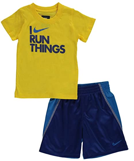 Image Unavailable. Image not available for. Color  Nike Baby Boys  2-Piece  Outfit ... 83b281d29