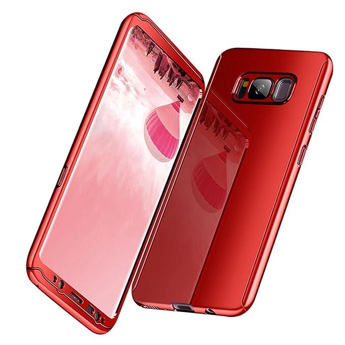 Carcasa Samsung Galaxy S8 Chapado Tres en uno Espejo Case ...