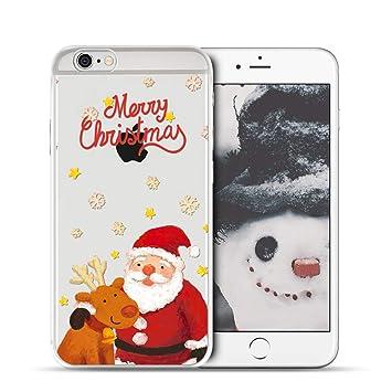Anfire-ES Funda iPhone 6 / iPhone 6S Transparente, Carcasa ...