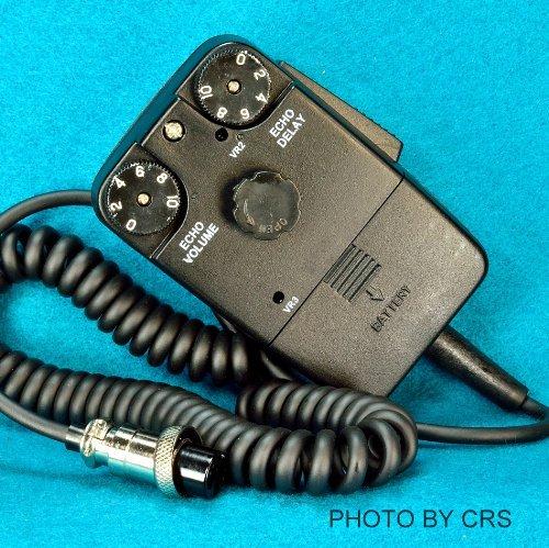 Portable, POWER / Tornado ECHO Mic for CB / Ham Radio 4 pin Cobra / Uniden - Workman DM1000 Consumer Electronic Gadget Shop by Portable4All
