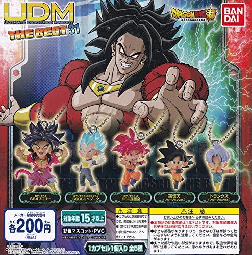 [해외]드래곤볼 슈퍼 UDM アルティメットディフォルメマスコット THE BEST 31 [전 5 종 세트 (완전 광고 / Dragon Ball Super UDM Ultimate Deformed Mascot THE BEST 31 [All 5 Sets (Full Comp
