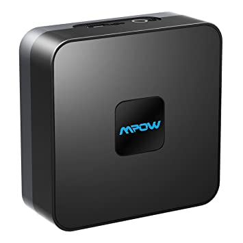 Mpow Receptor Bluetooth (Bluetooth 4.1, A2DP). Adaptador Receptor inalámbrico de Audio Bluetooth