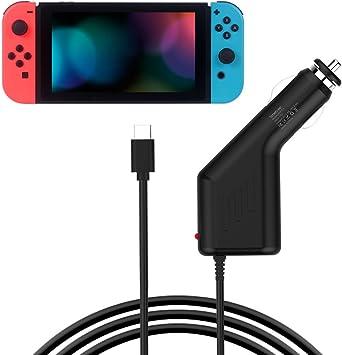 Smatree Cargador de Coche para Nintendo Switch: Amazon.es: Electrónica