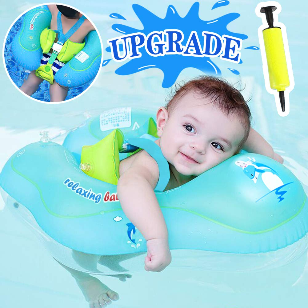 GBD Flotador de Natación para Bebés,Anillo de Natación Bebé Juguetes de Piscina Niños Natación Anillo Cintura Flotadores inflables Entre 6 Meses-3 ...