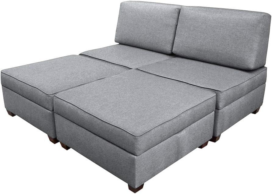Amazon Com Duobed Sofa Bed King Size Grey Furniture Decor