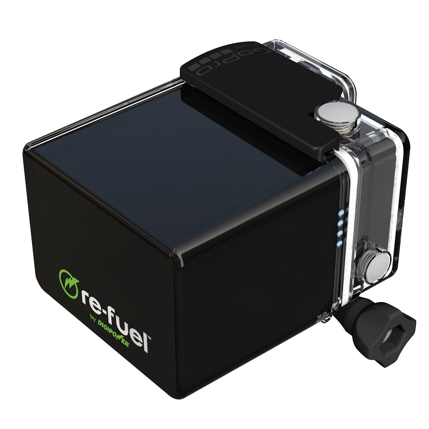Re-Fuel 9600mAh 24-Hour Action Battery Pack for GoPro HERO3, HERO3+, and HERO4 Cameras by DigiPower