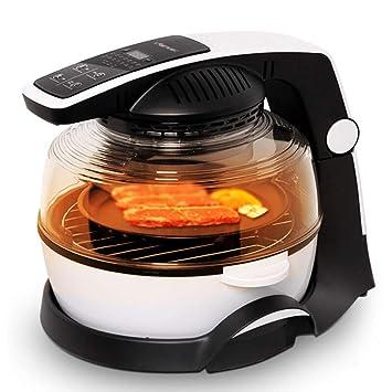 Freidora De Aire,cocina Baja En Grasa Saludable,sin Aceite,control Remoto Inteligente En El Hogar,10 L,1200 Vatios (con 5 Accesorios): Amazon.es: Hogar