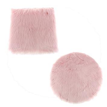 Sharplace 2 Stück Weiche Badematte, Teppiche Für Wohnzimmer Oder  Schlafzimmer   Hell Pink Typ1
