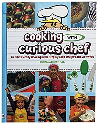 """Cooking with Curious Chef"" Cookbook & Small Knife Bundle from Curious Chef"