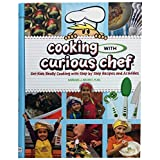 """Curious Chef""""Cooking with Curious Chef"""" Cookbook, Multicolor"""