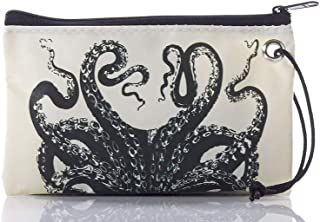 product image for Sea Bags Recycled Sail Cloth Octopus Wristlet