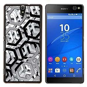 YiPhone /// Prima de resorte delgada de la cubierta del caso de Shell Armor - Modelo del metal - Sony Xperia C5 Ultra