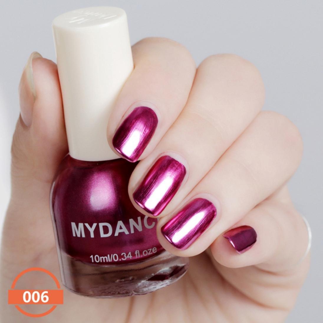 Amazon Com Beautiful Nail Designer Ikevan My Dance 10ml Flow Gold