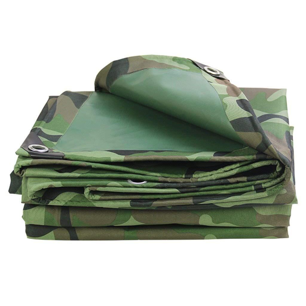 Size : 2x2m QYQPB Draussen wasserdichte Plane Auto Boot Dach Regen Abdeckung Camping Anhänger Zelt für Camping und Outdoor 400g / m² Schattierungsnetz Dicke 0,45mm