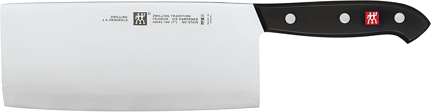 Stainless Steel ZWILLING J.A HENCKELS 31134-160 International Classic Cleaver 6//160 mm
