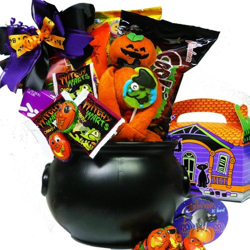 Cookies and Screams Halloween Chocolate and Candy Gift -