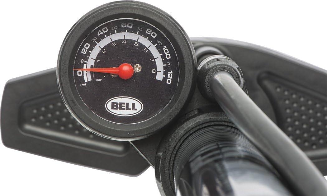 Bell Air Glide High Pressure Floor Pump with Gauge