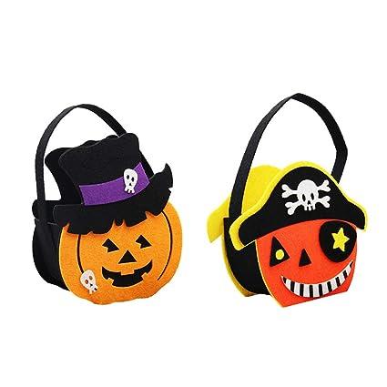 Amosfun 2 unids Bolsas de Dulces de Halloween Bolsas de ...