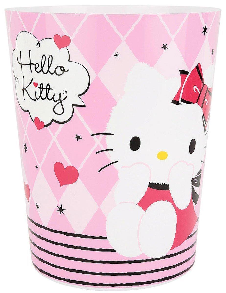 Hello Kitty Hugs A Lot Wastebasket 073558695639