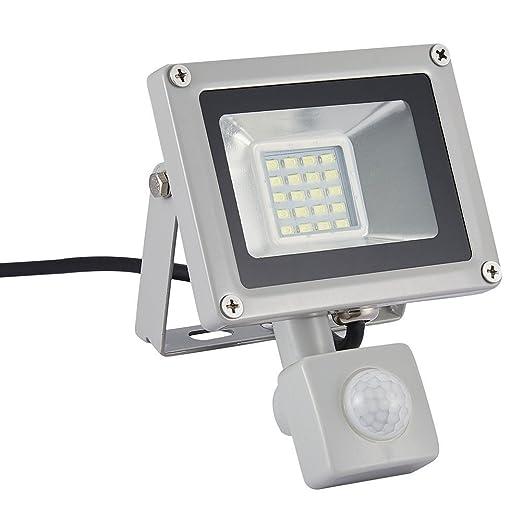 20w Led Foco Proyector,Foco sensor de movimiento ,Led Floodlight para Exterior Iluminación Decoración