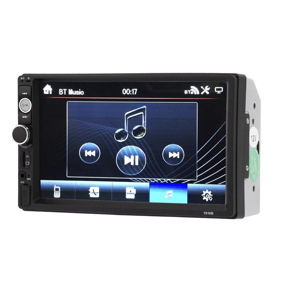 Toogoo 2018 New 7010B 7 Inch Bluetooth V2.0 Car Audio Stereo Touch Screen MP5 Player