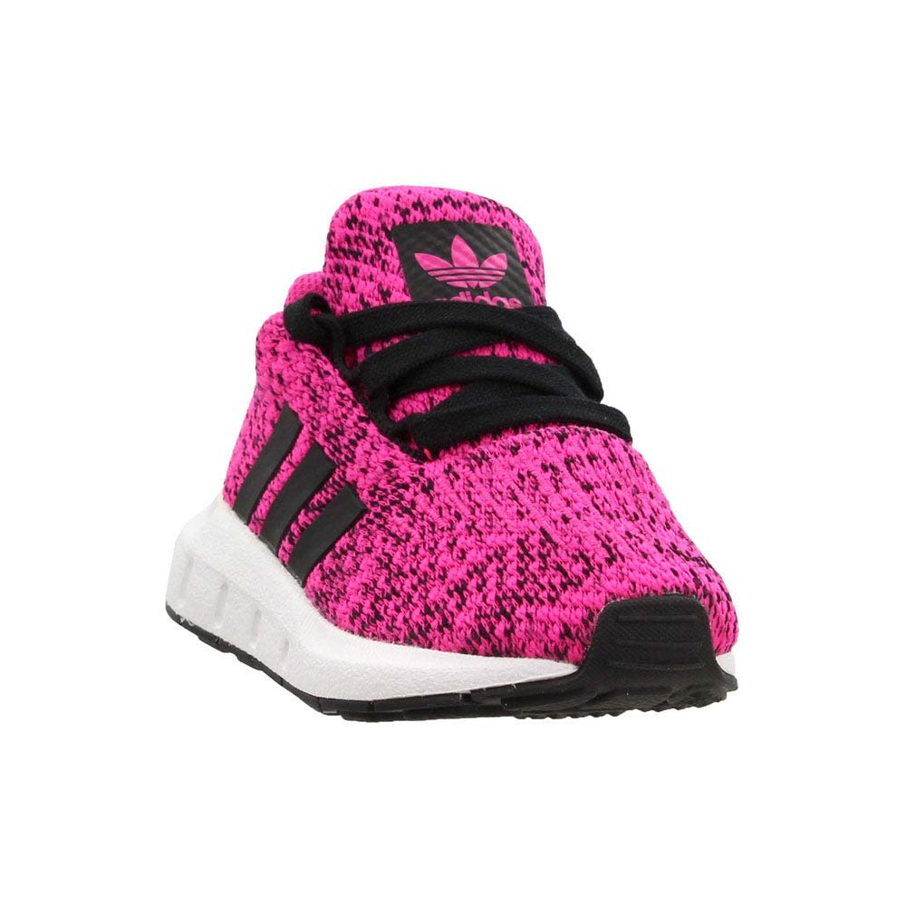 adidas Originals Kids Baby Girl's Swift Run INF (Toddler) Shock Pink/Black 4 M US Toddler
