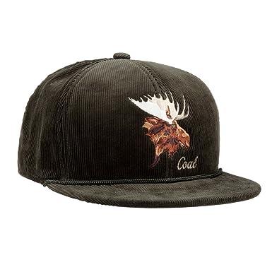 148efa66820 Amazon.com  Coal Men s The Wilderness Hat Adjustable Corduroy Snapback Cap   Clothing