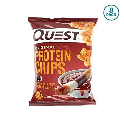 Quest Nutrition, Proteína Patatas fritas, BARBACOA Sabor, 8 ...